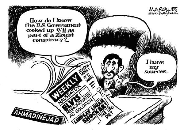 83630 600 Ahmadinejad on 9/11 cartoons
