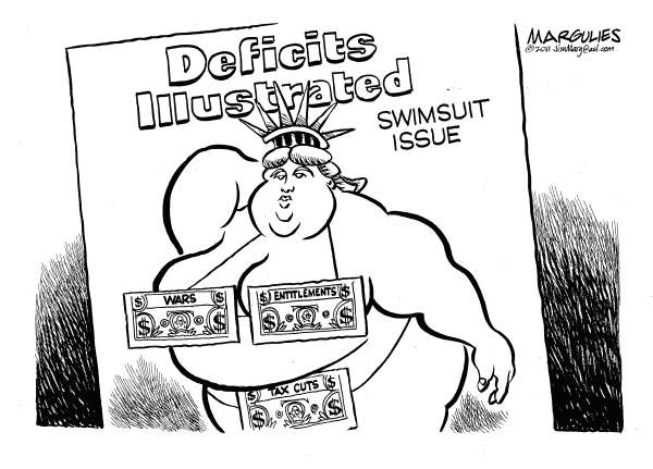 89312 600 Deficits Illustrated cartoons