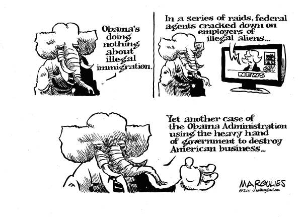 93742 600 Obama and illegal immigration cartoons