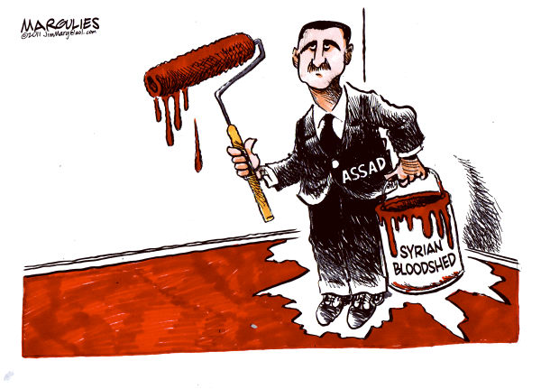 102302 600 Syrian Bloodshed cartoons