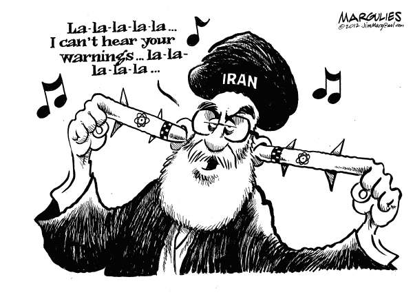 Jimmy Margulies - The Record of Hackensack, NJ - Iran defiant on nukes - English - Iran, Iranian nukes, Iran sanctions, Strait of Hormuz, Persian gulf oil