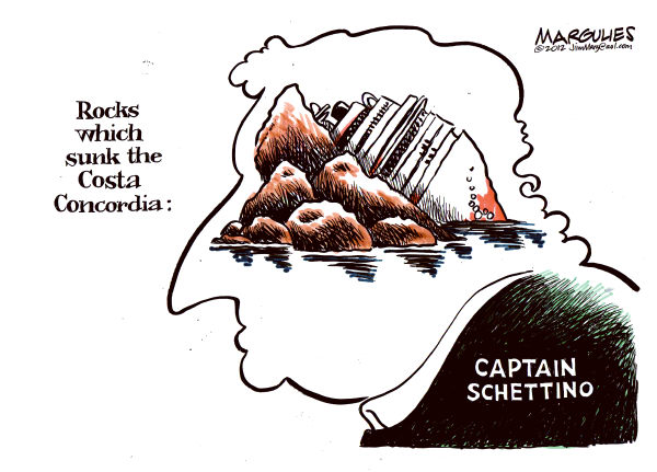 Jimmy Margulies - The Record of Hackensack, NJ - Cruise ship sinking color - English - Costa Concordia, Carnival Cruise ship lines, cruise ship sinking , Captain Schettino, cruise ship regulation,travel, international travel,