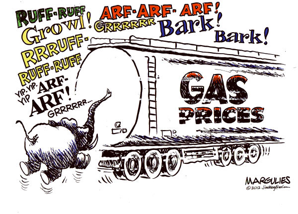 Jimmy Margulies - The Record of Hackensack, NJ - Gas Prices color - English - Gas prices, oil prices, energy, foreign oil dependence