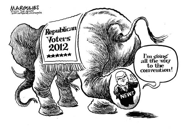 108190 600 Newt Gingrich candidacy cartoons