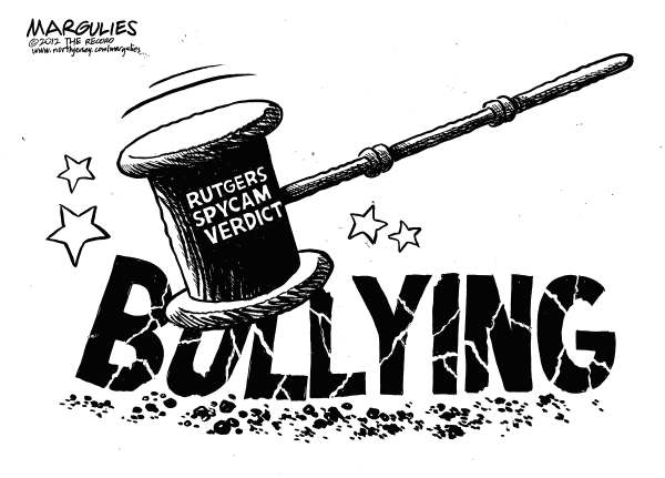 Jimmy Margulies - The Record of Hackensack, NJ - Rutgers Spycam verdict - English - Rutgers Spycam Trial, Rutgers Webcam Trial, Cyberbullying, Gays, Homosexuals, Gay Teens,Bullying, social media