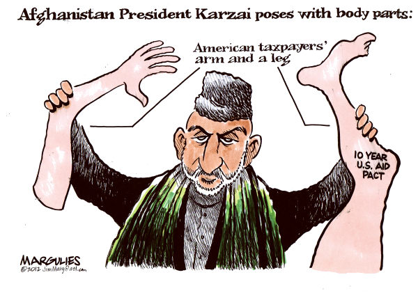 110478 600 US aid pact with Afghanistan cartoons