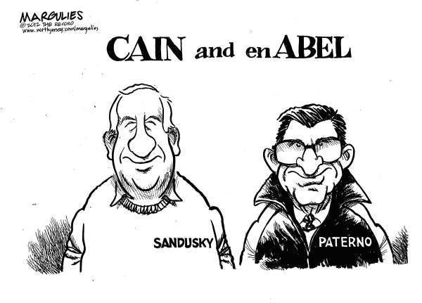 Jimmy Margulies - The Record of Hackensack, NJ - Sandusky and Paterno - English - Jerry Sandusky, Joe Paterno, Penn State Football, Freeh Report, Pedophilia