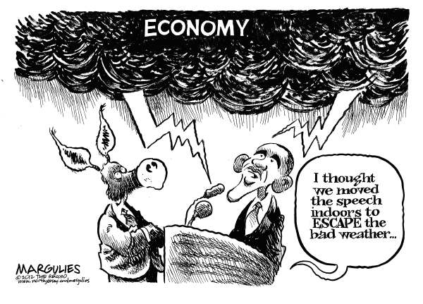 Jimmy Margulies - The Record of Hackensack, NJ - Obama convention speech - English - Obama convention speech, Democratic convention, Obama campaign, Economy, economic recovery, jobless rate, unemployment, President Obama, Obama