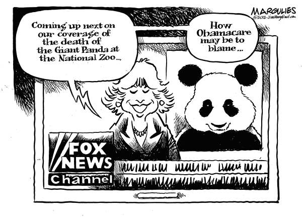 Jimmy Margulies - The Record of Hackensack, NJ - Panda Cub dies - English - Giant Pandas, Panda cub, National Zoo, Obamacare, Fox News channel