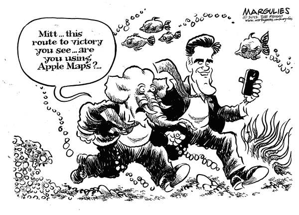 Jimmy Margulies - The Record of Hackensack, NJ - Apple Maps - English - Apple Maps, Romney, Mitt Romney, Romney for president, Romney campaign, Romney 2012