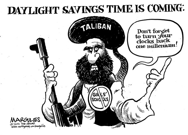 Jimmy Margulies - The Record of Hackensack, NJ - Taliban - English - Taliban, Afghanistan, Pakistan, Islamic extremists, Muslim fundamentalists, Taliban attack on 14 year old girl