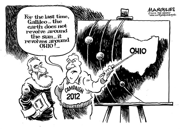Jimmy Margulies - The Record of Hackensack, NJ - Ohio - English - Ohio, Swing states, swing voters, 2012 Election, campaign 2012, Electoral college, undecided voters