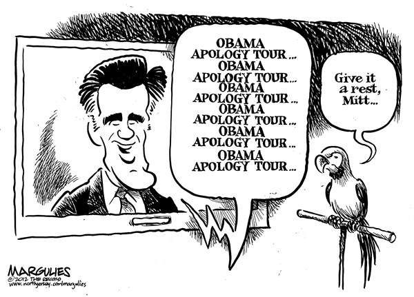 Jimmy Margulies - The Record of Hackensack, NJ - Romney sound bite - English - Romney sound bites, Romney for president, Romney, Mitt Romney, 2012 campaign, presidential debates, foreign policy debate, 2012 presidential election