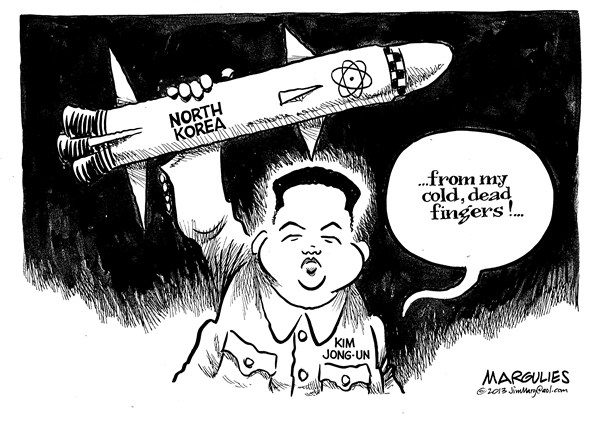 Jimmy Margulies - The Record of Hackensack, NJ - North Korea nukes - English - North Korea, Kim Jong-Un, North Korea nukes, North Korea missile testing, China, South Korea