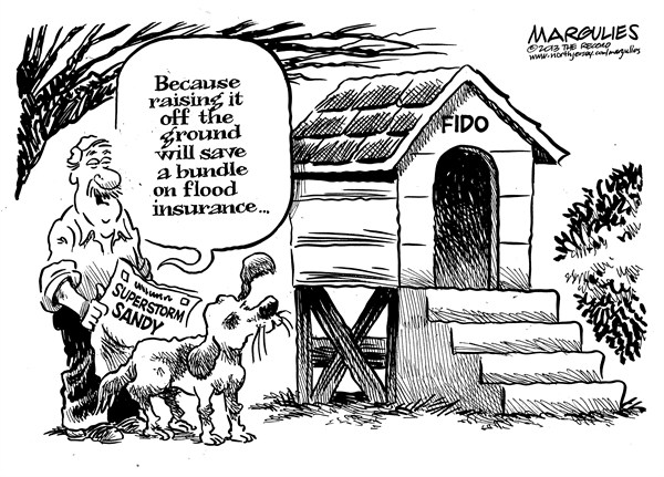 Jimmy Margulies - The Record of Hackensack, NJ - Superstorm Sandy and flood insurance - English - Superstorm Sandy, Flood insurance, Rebuilding after Sandy, Coastal living, Hurricanes