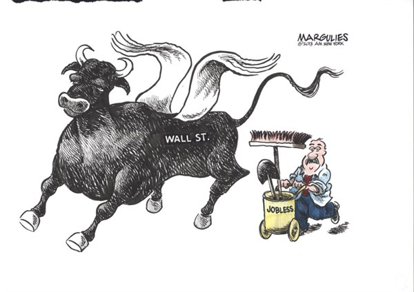 Jimmy Margulies - The Record of Hackensack, NJ - Stock Market high - English - Stock Market, Wall  Street, Dow Jones, Stock Market rally