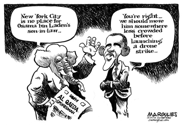 Jimmy Margulies - The Record of Hackensack, NJ - bin Laden son-in-law in US custody - English - bin Laden son-in-law, 9/11, terrorism, war on terror, Guantanamo, Gitmo, al Qaida