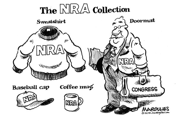 Jimmy Margulies - The Record of Hackensack, NJ - NRA and Congress - English - NRA, gun lobby, Assault weapons, Sandy Hook massacre, gun violence, Congress