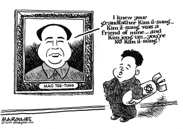 Jimmy Margulies - The Record of Hackensack, NJ - Kim jong un - English - Kim jong un, North Korea, North Korea nukes, Kim il-sung, South Korea, China