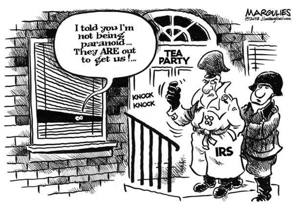 Jimmy Margulies - The Record of Hackensack, NJ - IRS and Tea Party - English - IRS, Tea Party, IRS scrutiny of conservative groups, IRS-Tea Party scandal