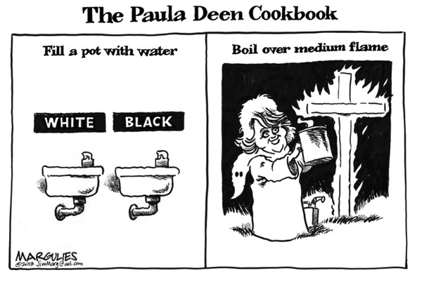 Jimmy Margulies - The Record of Hackensack, NJ - Paula Deen - English - Paula Deen, racism, the N word, Food Network