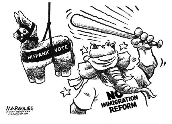 Jimmy Margulies - The Record of Hackensack, NJ - Republicans and Immigration Reform - English - Immigration reform, Path to citizenship, Latino vote, Hispanic vote, Republican party, House Republicans