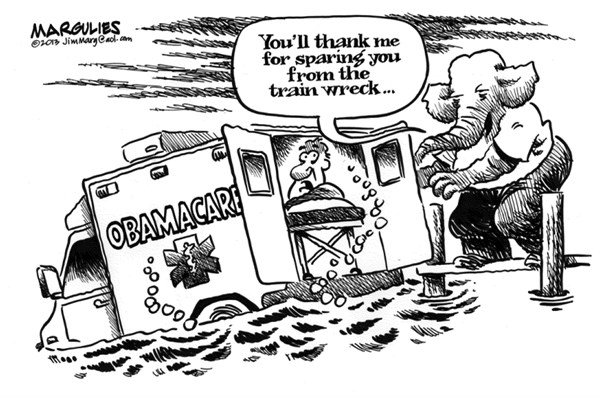 Jimmy Margulies - The Record of Hackensack, NJ - Republicans and Obamacare - English - Obamacare, Republican opposition to Obamacare, Republicans, health care
