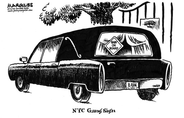 Jimmy Margulies - The Record of Hackensack, NJ - Baby murdered in NYC  - English - Baby murdered in NYC, gangs, gang violence, guns