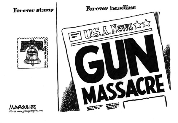 Jimmy Margulies - The Record of Hackensack, NJ - Washington Navy Yard shooting  - English - Washington Navy Yard Shooting, guns, gun violence, gun massacres, gun control, automatic weapons, semi-automatic weapons, NRA, gun lobby