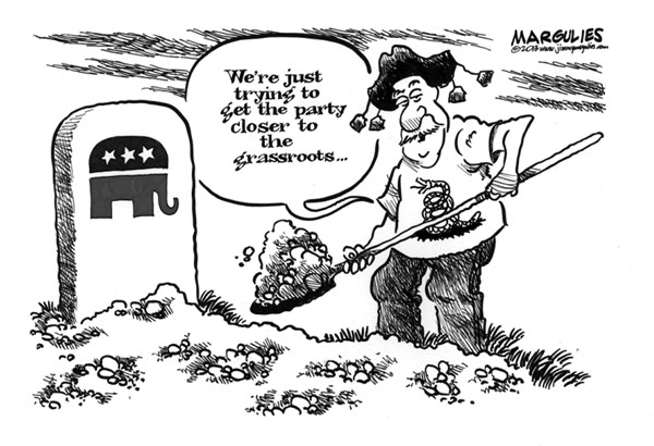 Jimmy Margulies - The Record of Hackensack, NJ - Tea Party and Republicans - English - Tea Party, Republicans, Congress, Republican Party