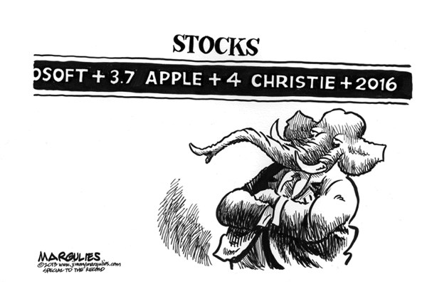 Jimmy Margulies - The Record of Hackensack, NJ - Christie 2016 - English - Chris Christie, Governor Christie, Christie for President, 2016 Presidential campaign, 2016 Republican presidential candidates, Christie reelection