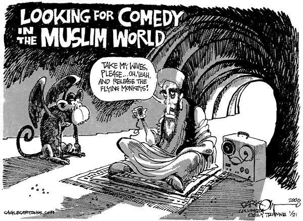 John Darkow - Columbia Daily Tribune, Missouri - Osama Bin Youngman - English - Middle East Osama