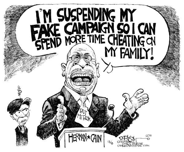 102353 600 Cain Suspends Book Tour cartoons