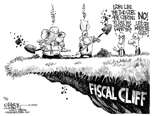 123459 600 Digging in the Fiscal Cliff cartoons