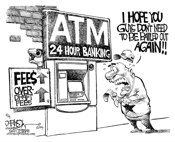 154509 600 Bank Fees cartoons