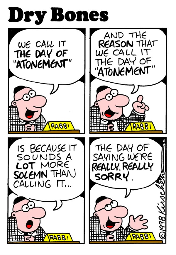 154259 600 Day of Atonement cartoons