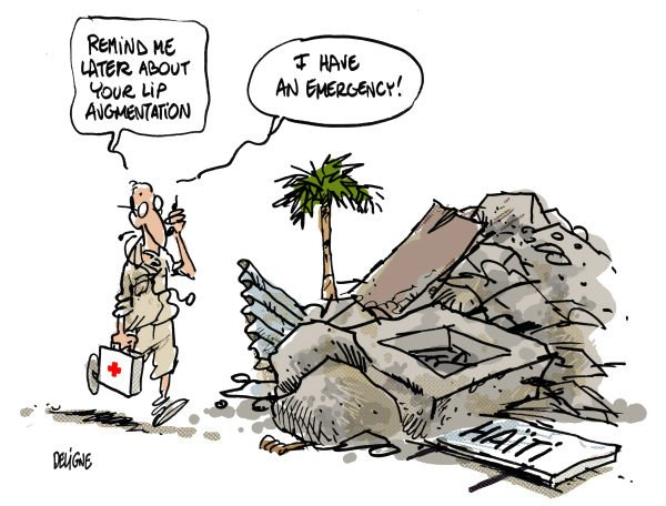 Frederick Deligne - Nice-Matin, France - Haiti Urgence - English - haiti,care,earthquake,disaster,doctor,death,emergency