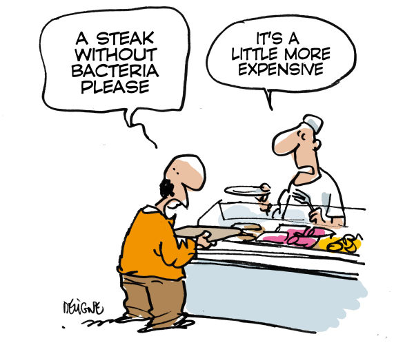 Frederick Deligne - Nice-Matin, France - Bacteria - English - bacteria,health,food,disease