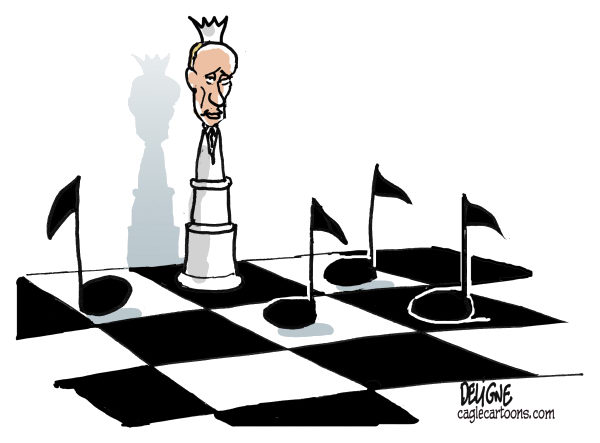 Frederick Deligne - Nice-Matin, France - Putin, chess and Pussy Riot - English - putin, russia, riot, pussy riot, music, goulag, kremlin,chess