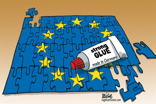 Frederick Deligne - Nice-Matin, France - European Glue - English - europe, EU, euro,france,germany,union