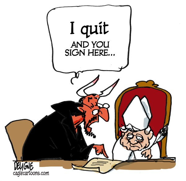 Benedict XVI resigns © Frederick Deligne,Nice-Matin, France,pope,vatican,church,retirement,catholic,rome
