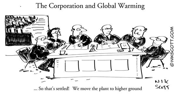 Nik Scott - Australia - The Corporation and Global Warming - English - global warming icecaps environment business