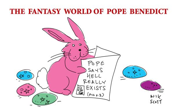 Nik Scott - Australia - Of Popes and Rabbits - English - pop benedict hell