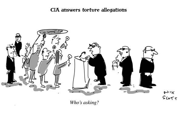 Nik Scott - Australia - CIA answers torture allegations - English - cia, waterboarding, torture