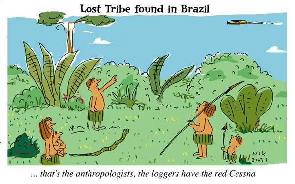 Nik Scott - Australia - Lost Tribe of the Amazon - English - lost tribe, amazon, brazil, rainforest, logging