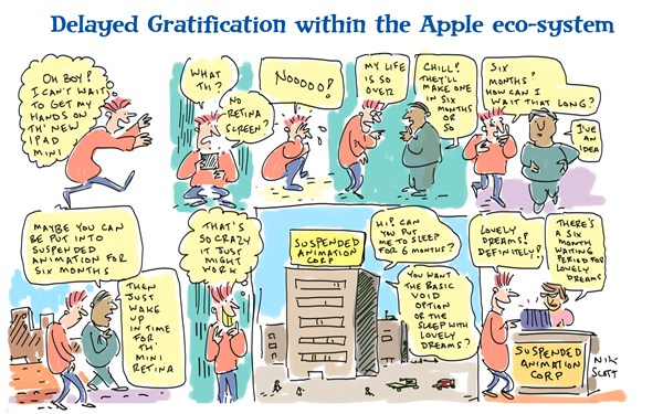 121826 600 The iPad Mini and Delayed Gratification cartoons