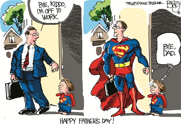 27958 600 Super Dad cartoons