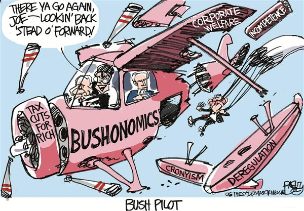 56155 600 Palin Bush Pilot cartoons