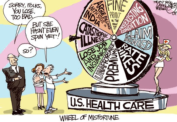 64435 600 Wheel of Misfortune cartoons