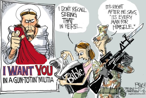 76639 600 Jesus Wants You Militias cartoons